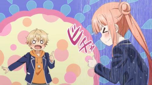 Kono Bijutsubu ni wa Mondai ga Aru! / Episode 12 / Uchimaki getting Imari's manga allusion