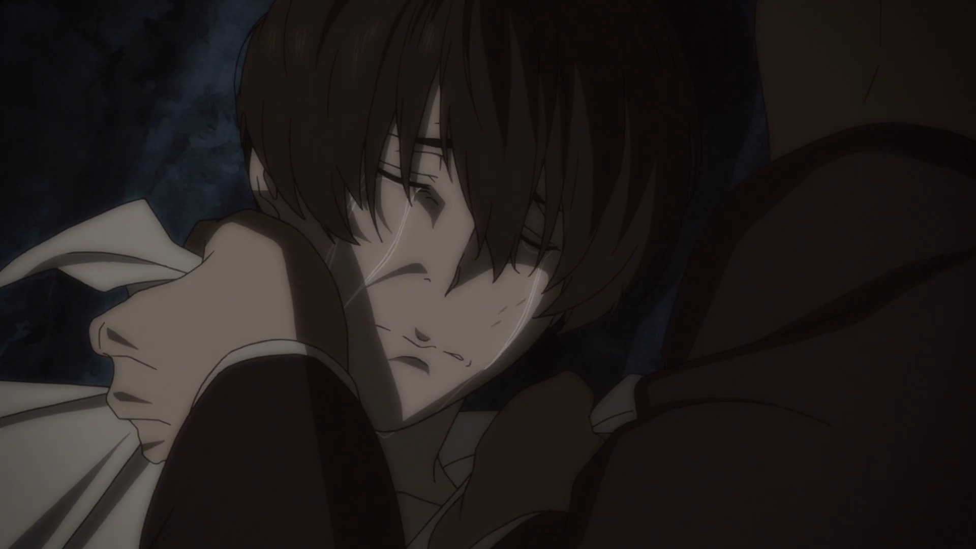91 Days Episode 12 Angelo Crying In Anguish
