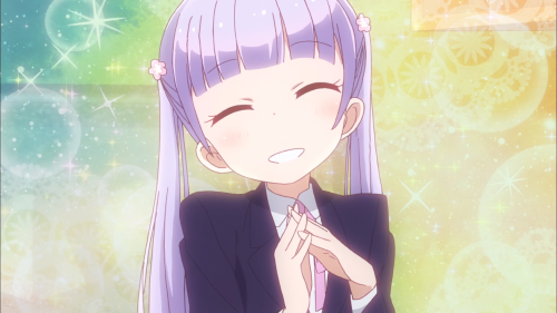 New Game! / Episode 1 / Aoba with an infectious smile