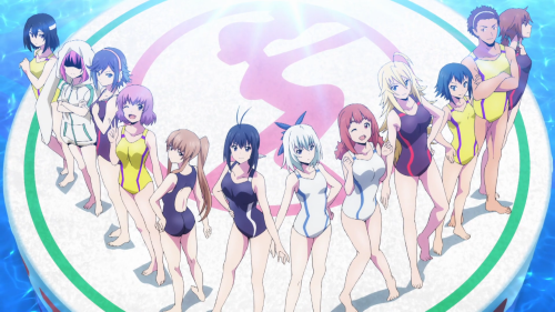 Keijo!!!!!!!! / Episode 3 / The women of Keijo