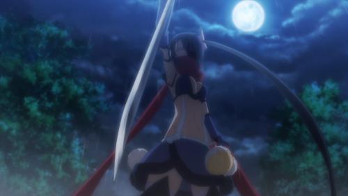 Mahou Shoujo Ikusei Keikaku / Episode 12 / Ripple going in for the final strike