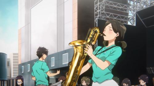 Hibike! Euphonium 2 / Episode 7 / Haruka groovin' with her saxophone