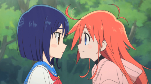 Flip Flappers / Episode 1 / Cocona and Papika meet for the first time
