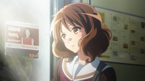 Hibike! Euphonium 2 / Episode 10 / Kumiko contemplating