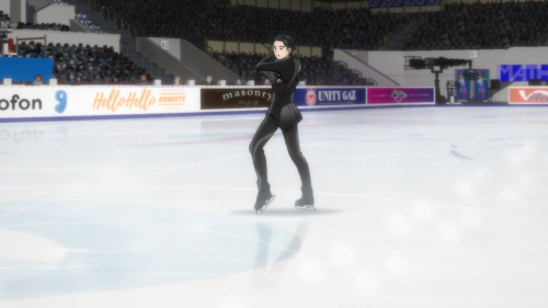 Yuri!!! on ICE / Episode 8 / Yuri as he completes his short program