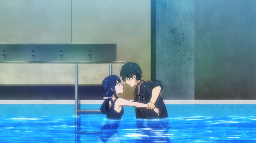 Masamune-kun no Revenge / Episode 6 / Masamune-kun pulling Aki in close for a potential kiss