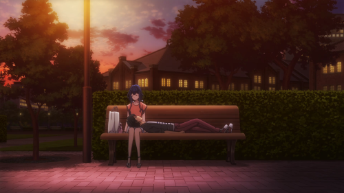 Masamune-kun no Revenge / Episode 3 / Masamune-kun laying down on Aki's lap