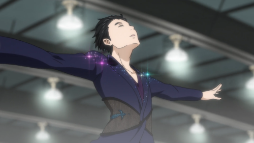 Yuri!!! on ICE / Episode 4 / Yuri performing his free skate program