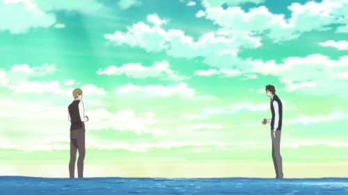 Fune wo Amu / Episode 7 / Nishioka and Majime have an earnest conversation