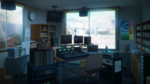 Occultic;Nine / Episode 12 / The radio station where Gamon's father worked