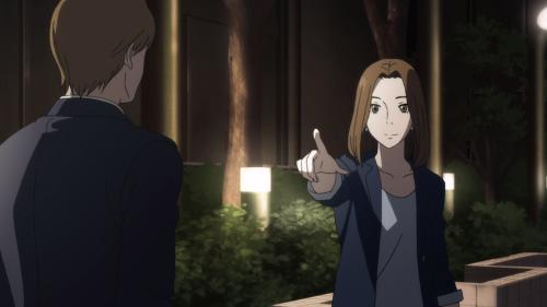 Fune wo Amu / Episode 8 / Midori explaining the word