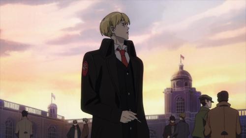 ACCA: 13-ku Kansatsu-ka / Episode 4 / Jean smoking in Suitsu district
