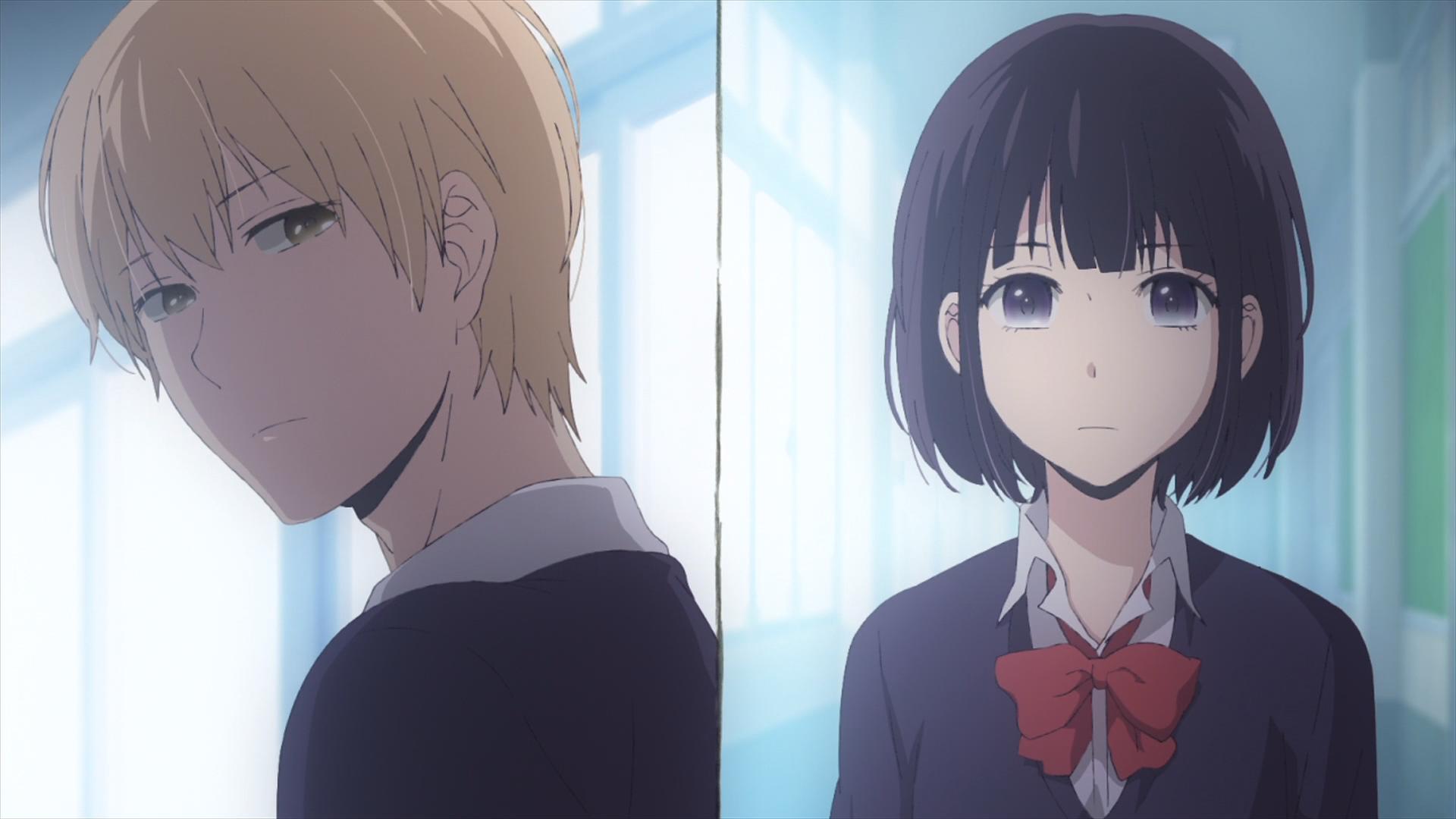 Kuzu No Honkai Episode 1 Mugi And Hanabi Meeting For The First Time
