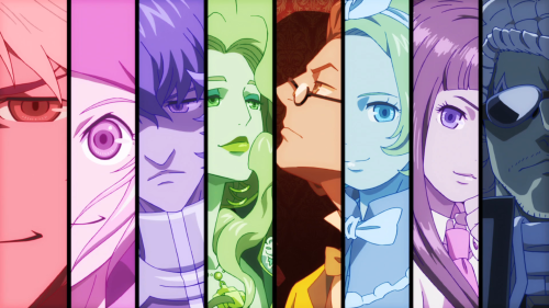 ClassicaLoid / Episode 1 / A shot of every ClassicaLoid at once from the opening track's visuals