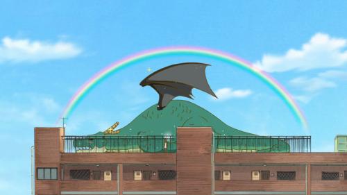 Kobayashi-san Chi no Maid Dragon / Episode 3 / Kobayashi giving Tohru a bath