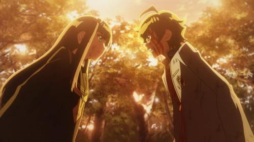 Sousei no Onmyouji / Episode 9 / Benio and Rokuro form a pact to grow ever stronger