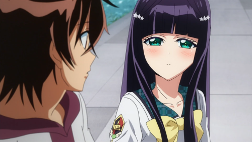Sousei no Onmyouji / Episode 37 / Benio wanting to hear Rokuro's feelings
