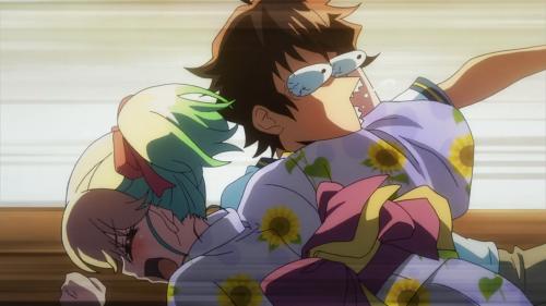 """Sousei no Onmyouji / Episode 14 / Mayura calling Rokuro a """"flaunting sweet sergeant"""""""