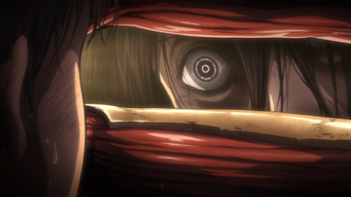 Shingeki no Kyojin Season 2 / Episode 11 (36 overall) / Mikasa with murder in mind