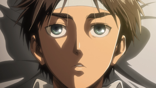 Shingeki no Kyojin Season 2 / Episode 1 (26 overall) / Eren waking up from sleep