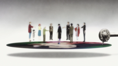 Shouwa Genroku Rakugo Shinjuu: Sukeroku Futatabi-hen / Episode 2 / A frame from the opening track of the anime