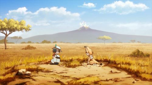 Kemono Friends / Episode 1 / Kaban and Serval meeting for the very first time