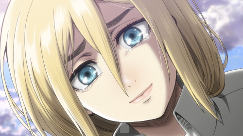 Shingeki no Kyojin Season 2 / Episode 5 (30 overall) / Krista telling Ymir her true name: Historia