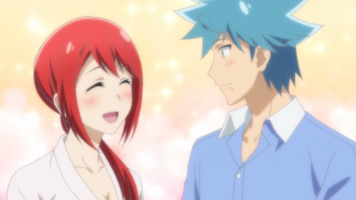 Renai Boukun / Episode 8 / Akane happy to be with Seiji once again