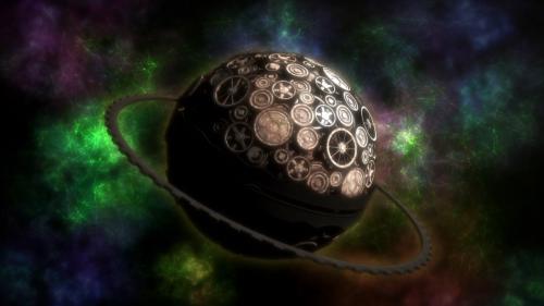 Clockwork Planet / Episode 1 / The literal Clockwork Planet