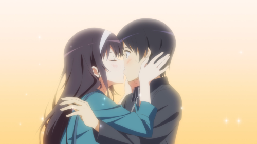 Saenai Heroine no Sodatekata ♭ / Episode 11 / Utaha gets the first kiss