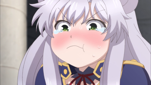 Rokudenashi Majutsu Koushi to Akashic Records / Episode 1 / Sisti getting fed up with (and fed by) Glenn