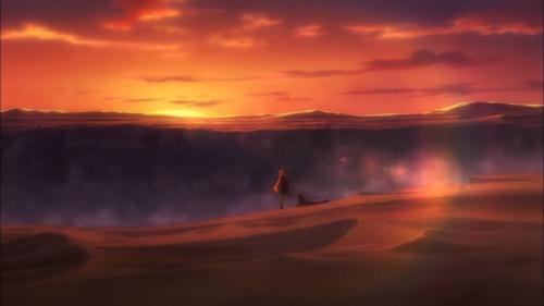 Shuumatsu Nani Shitemasu ka? Isogashii desu ka? Sukutte Moratte Ii desu ka? / Episode 12 / Chtholly and Willem exchanging their last words together