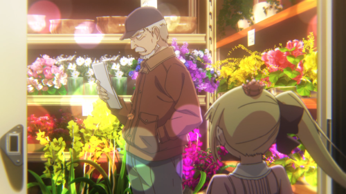 Alice to Zouroku / Episode 1 / Zouroku the florist awing Sana