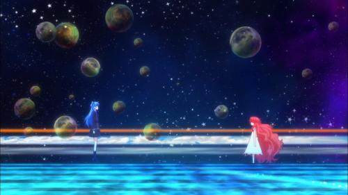 Shuumatsu Nani Shitemasu ka? Isogashii desu ka? Sukutte Moratte Ii desu ka? / Episode 11 / Chtholly talking with the spirit of the child who she reincarnated from