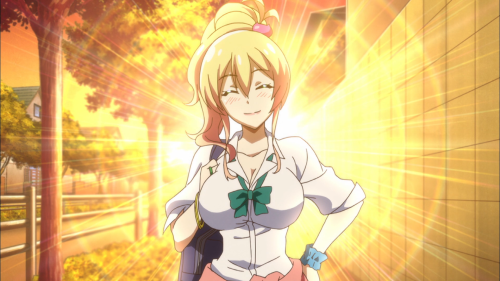 Hajimete no Gal / Episode 4 / Yukana shining brightly