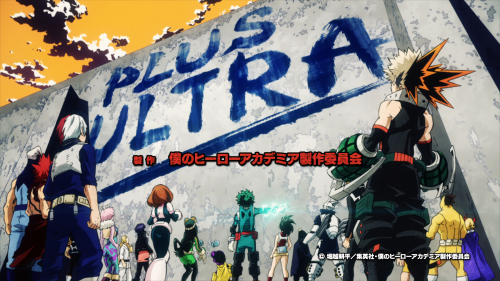 Boku no Hero Academia 2nd Season / Episode 14 / A frame taken from the second opening track
