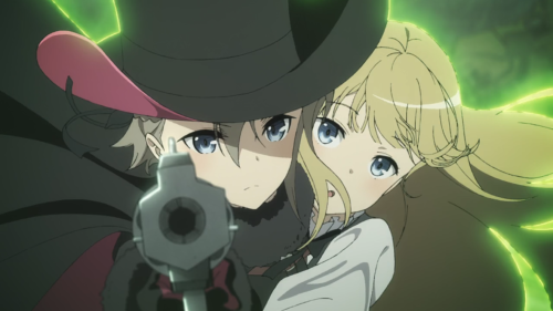 Princess Principal / Episode 9 / A frame taken from the opening track