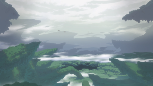 Made in Abyss / Episode 4 / A vast, green expanse within the harrowing Abyss