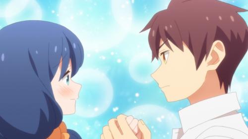 Tzuresure Children / Episode 10 / Ayaka and Takeru holding hands