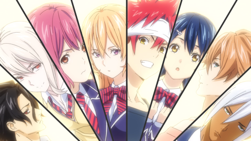 Shokugeki no Souma: San no Sara / Episode 7 / A screenshot taken from the opening track of the anime
