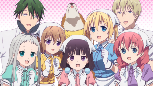 Blend S / Episode 11 / A frame taken from the opening track of the anime