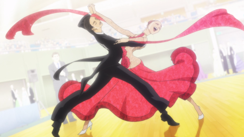 Ballroom e Youkoso / Episode 22 / Tatara and Chinatsu dancing together