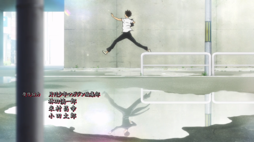 Ballroom e Youkoso / Episode 2 / A frame taken from the first opening track