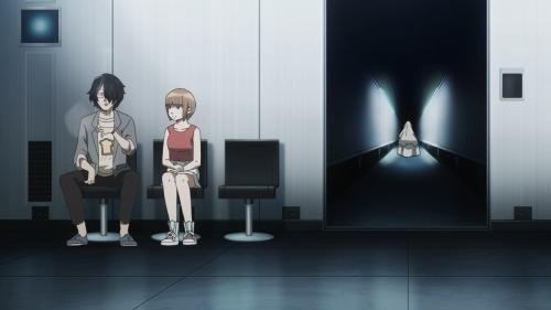 Subete ga F ni Naru: The Perfect Insider / Episode 3 / Nishinosono and Saikawa-sensei shortly following the murder of Dr. Magata