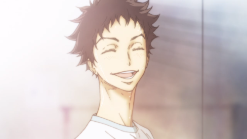 Ballroom e Youkoso / Episode 24 / Tatara smiling wide at all that he has accomplished in his dancing career thus far