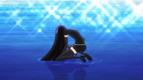 Houseki no Kuni / Episode 2 / Bort landing just after a battle