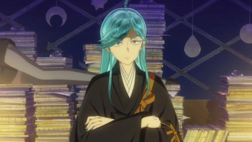 Houseki no Kuni / Episode 12 / Alexandrite quizzing Phos about Lunarians
