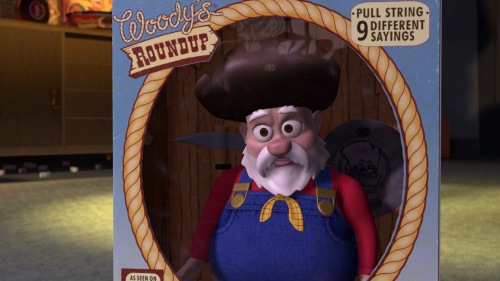 Toy Story 2 / Stinky Pete in his box