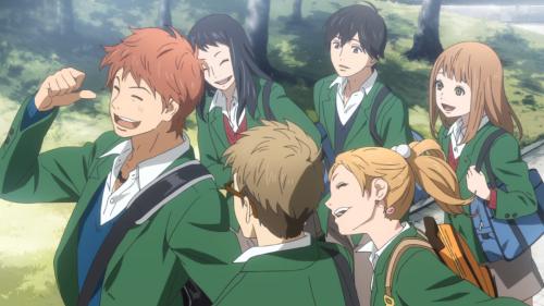 Orange / Episode 1 / The group having fun together