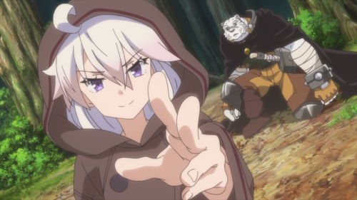 Zero kara Hajimeru Mahou no Sho / Episode 1 / Zero and Mercenary together